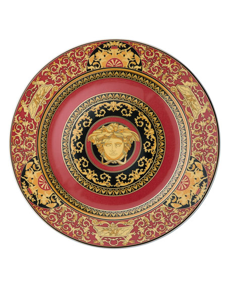 Image 1 of 1: Medusa Red Charger Plate