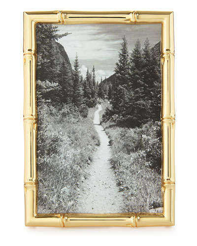 Mayotte Bamboo Picture Frame  4 x 6
