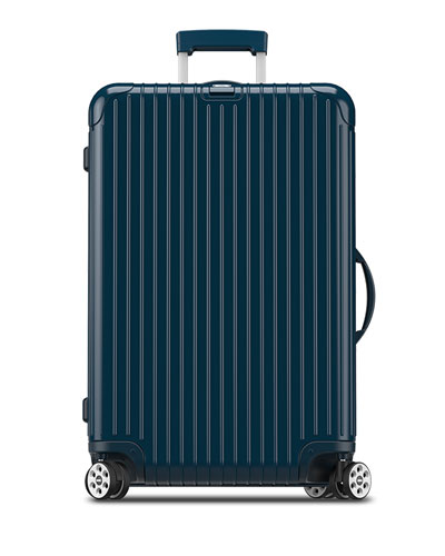 Salsa Deluxe Electronic Tag Yachting Blue 26 Multiwheel  Luggage
