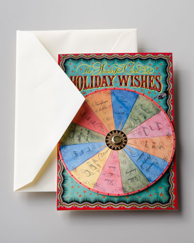 Holiday Wishes Spinner Card