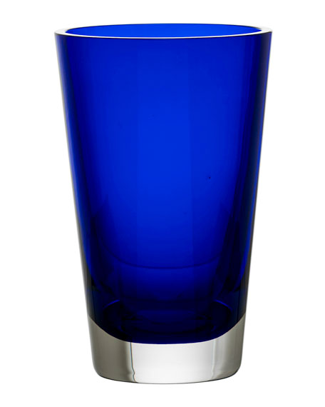 Mosaique Vase, Blue