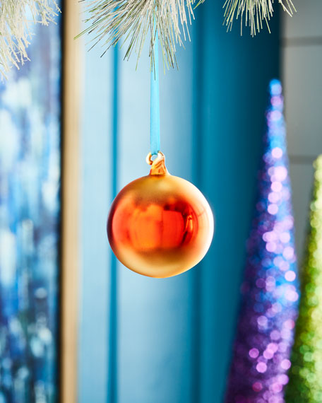Cody Foster & Co Ombre Christmas Ornament, Red
