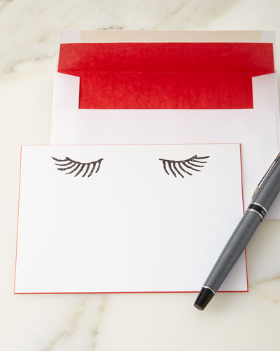 Eyelashes Stationery