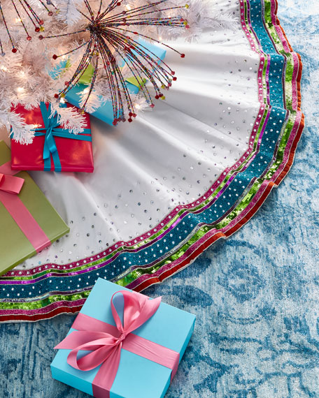 Playful Brights Collection Tree Skirt