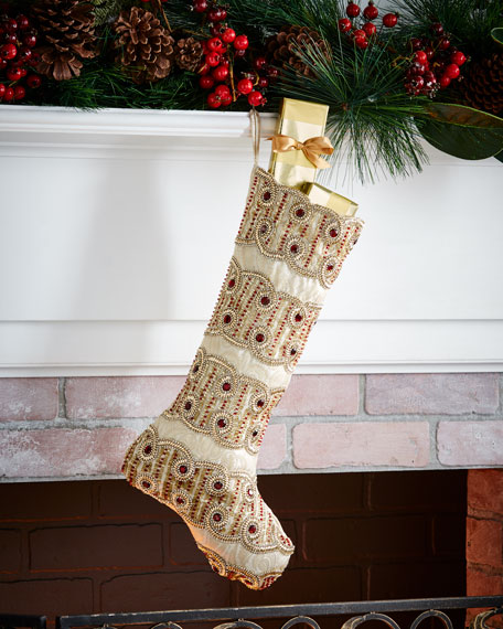 Kim Seybert Sparkle Stocking