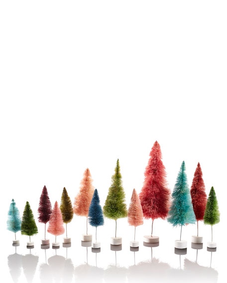 Red Trees, Set of 6