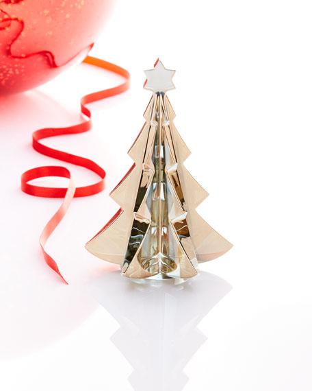 Noel Meribel Crystal Fir Tree Collectible, Golden
