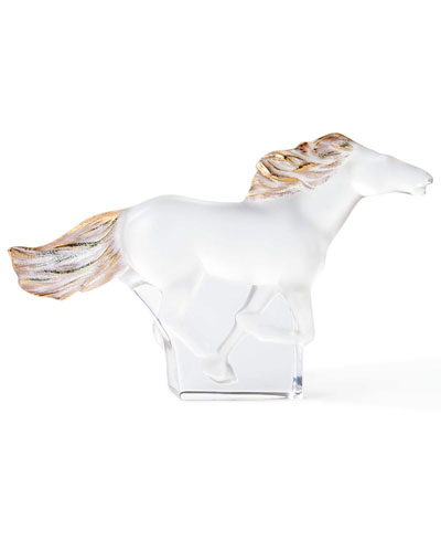 Kazak Standing Horse with Gold Stamping