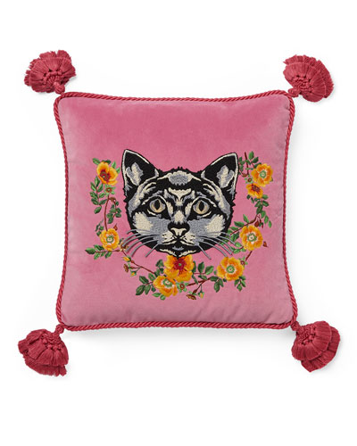 Cat Velvet Cushion