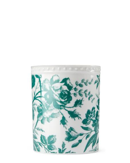 Herbarium Porcelain Candle, Green