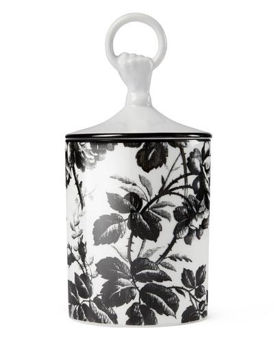 Herbarium Candle  Black