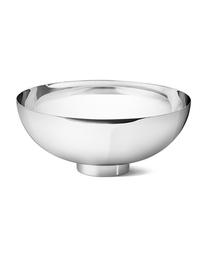 Isle Large Stainless Steel Mirror Bowl