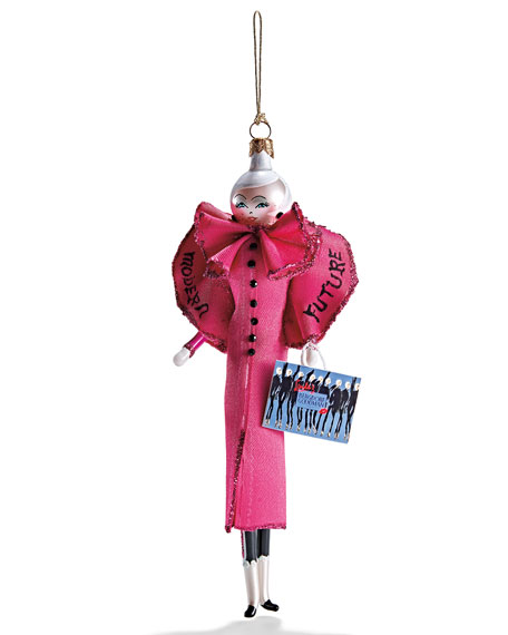 2017 Linda in Pink Coat Ornament