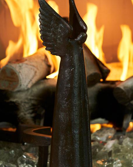 Angel d'Paz Andirons