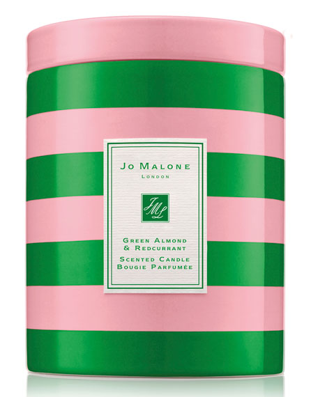 Green Almond & Redcurrant Christmas Candle