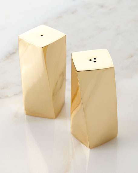 Image 1 of 1: Leon Salt and Pepper Shakers