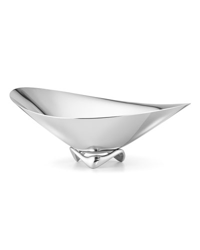 Stainless Steel Wave Bowl
