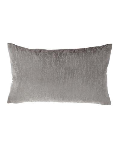Tides Velvet Rectangular Pillow