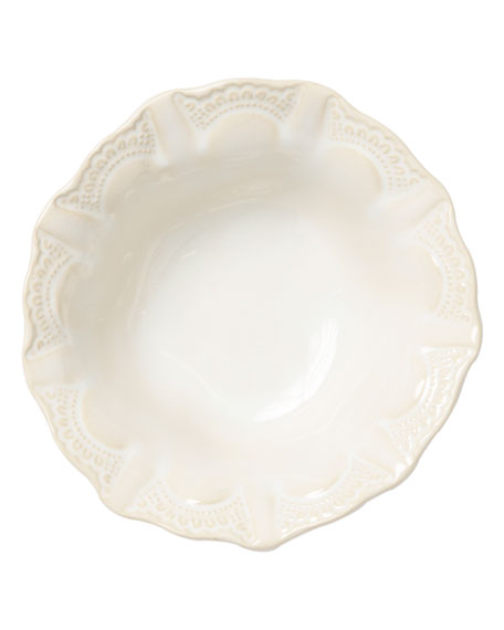 Incanto Stone Lace Cereal Bowl, Linen