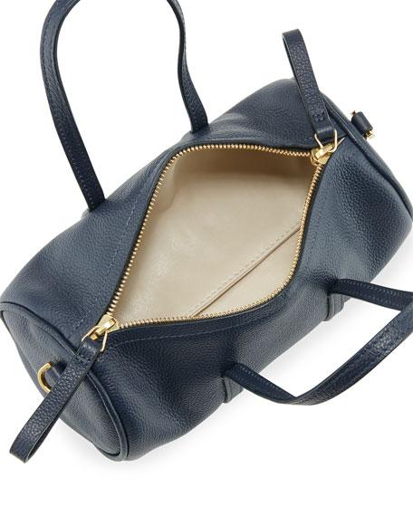 Pebbled Mini Mini Leather Duffel Bag