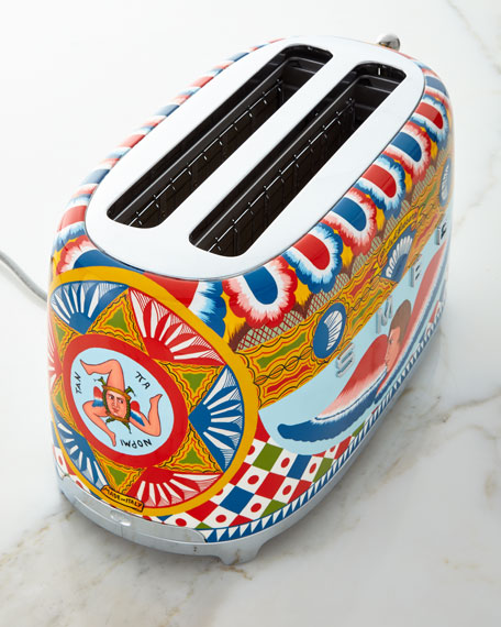 Dolce Gabbana x SMEG Sicily Is My Love 4-Slice Toaster