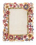 Jay Strongwater Floral Cluster Picture Frame, 5