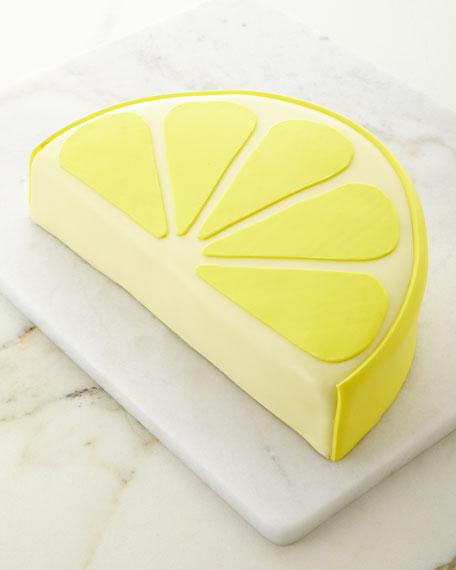 Lemon Drop Lemon Slice Cake