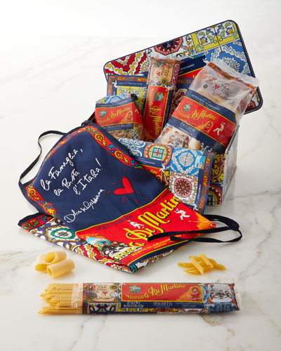 Dolce & Gabbana Pasta & Apron Tin Box Set