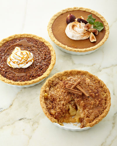 Holiday Pies  Set of 3