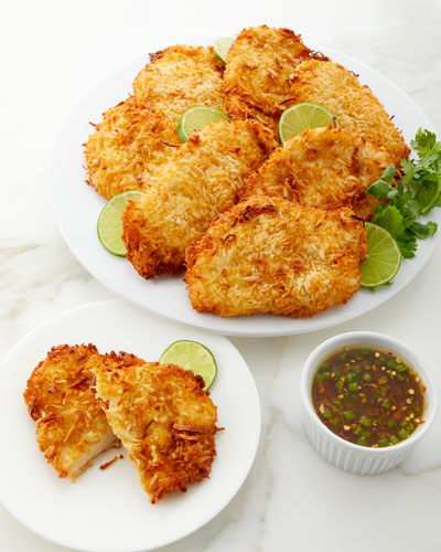 Coconut Crusted Chicken Breasts  Set of 8