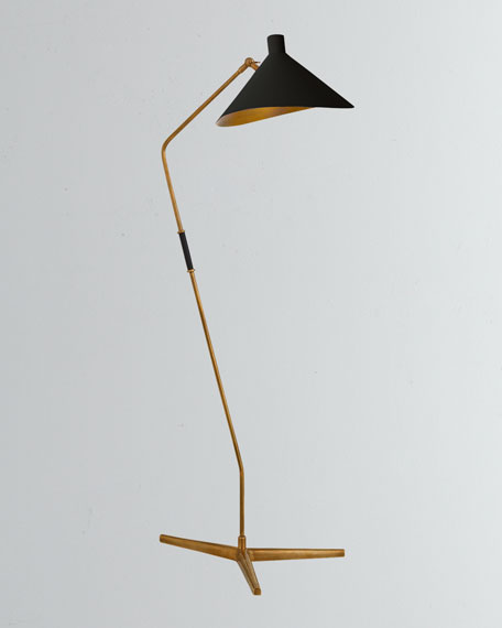 Image 1 of 1: Mayotte Large Offset Floor Lamp