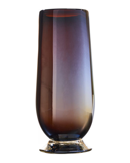 Image 1 of 1: Tio Opalescent Drinking Glass - Chocolate