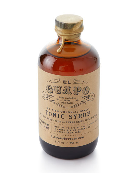 British Colonial Style Tonic Syrup
