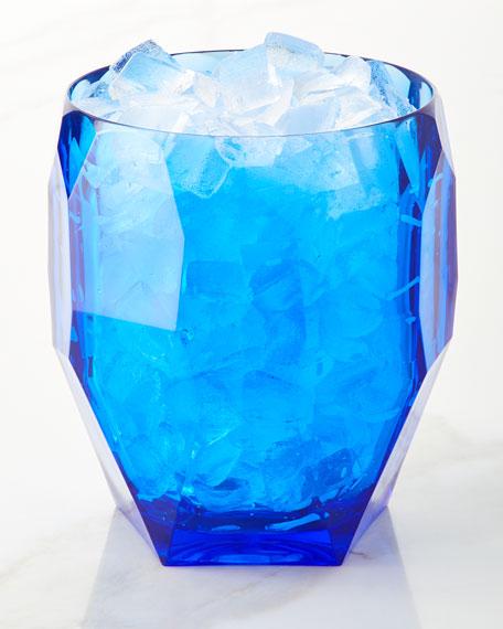 Antarctica Frost Acrylic Ice Bucket, Blue