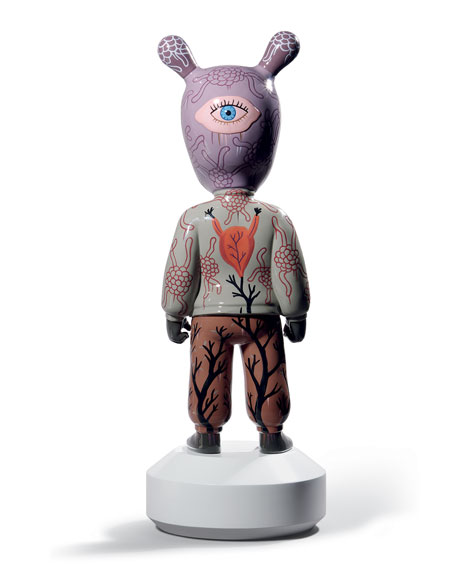 """""""The Guest"""" Statue by Gary Baseman"""
