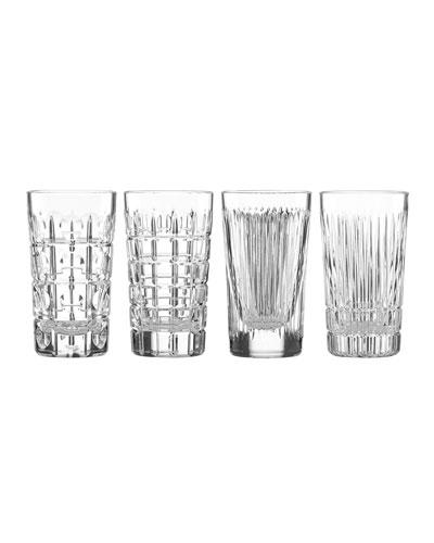 New Vintage Highball Glasses  Set of 4