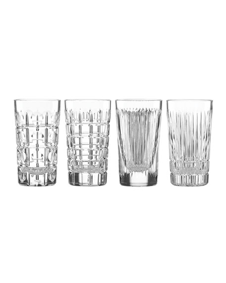 Image 1 of 1: New Vintage Highball Glasses, Set of 4