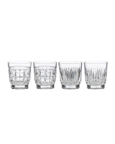 New Vintage Whiskey Glasses  Set of 4