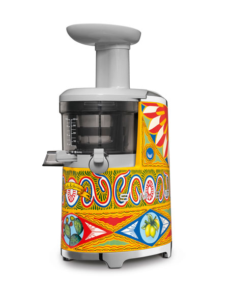 D&G x SMEG Hand-Painted Slow Juicer