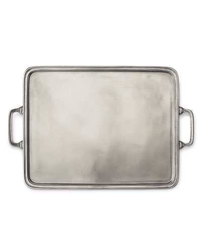 X-Large Rectangle Tray with Handles