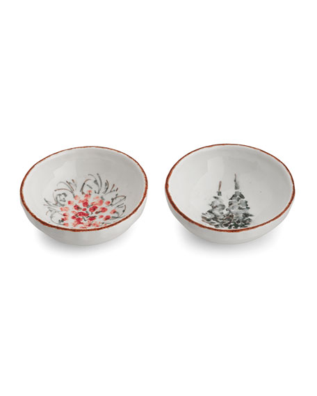 Natale Small Dipping Bowl Set
