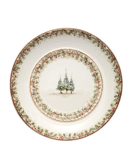 Natale Large Round Signed Platter