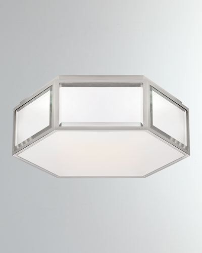 Bradford Small Hexagonal Flush Mount