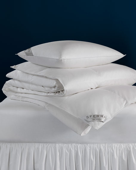 600-Fill European Down Medium Standard Pillow