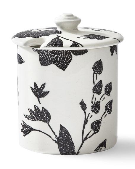 Garden Vine Sugar Pot