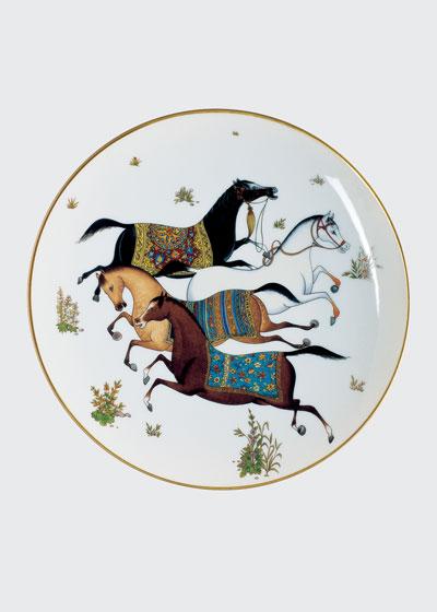 Cheval D'Orient Dessert Plate