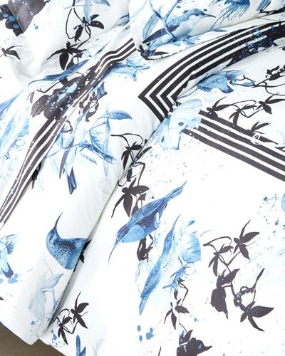 Birds Ramage King Duvet Cover