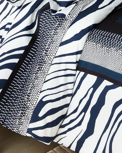 Frame Zebrage King Duvet Cover