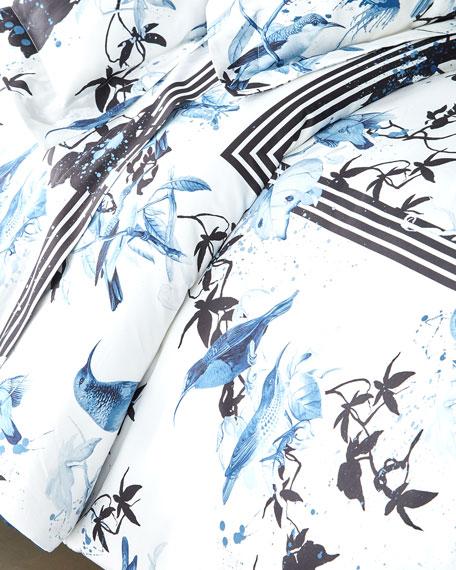 Birds Ramage Queen Duvet Cover