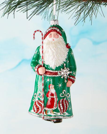 Mayfair Claus Ornament